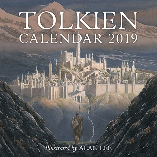 Book cover from Tolkien Calendar 2019 by J. R. R. Tolkien