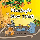 Monkey's New Trick: (Animal Bedtime Story for Toddler ) (Jungle Animal Stories Book 1)