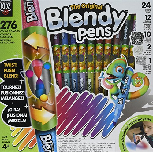 Chameleon Kidz Blendy Pens, Multi-Color Marker Pens, Jumbo Kit ()