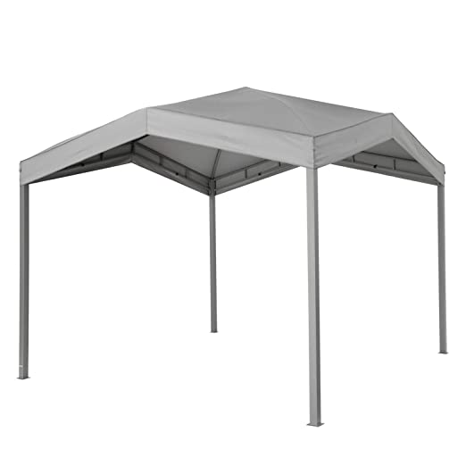 Pabellón gris Tepro marabo 305 x 305 x 275 cm Jardín Camping ...