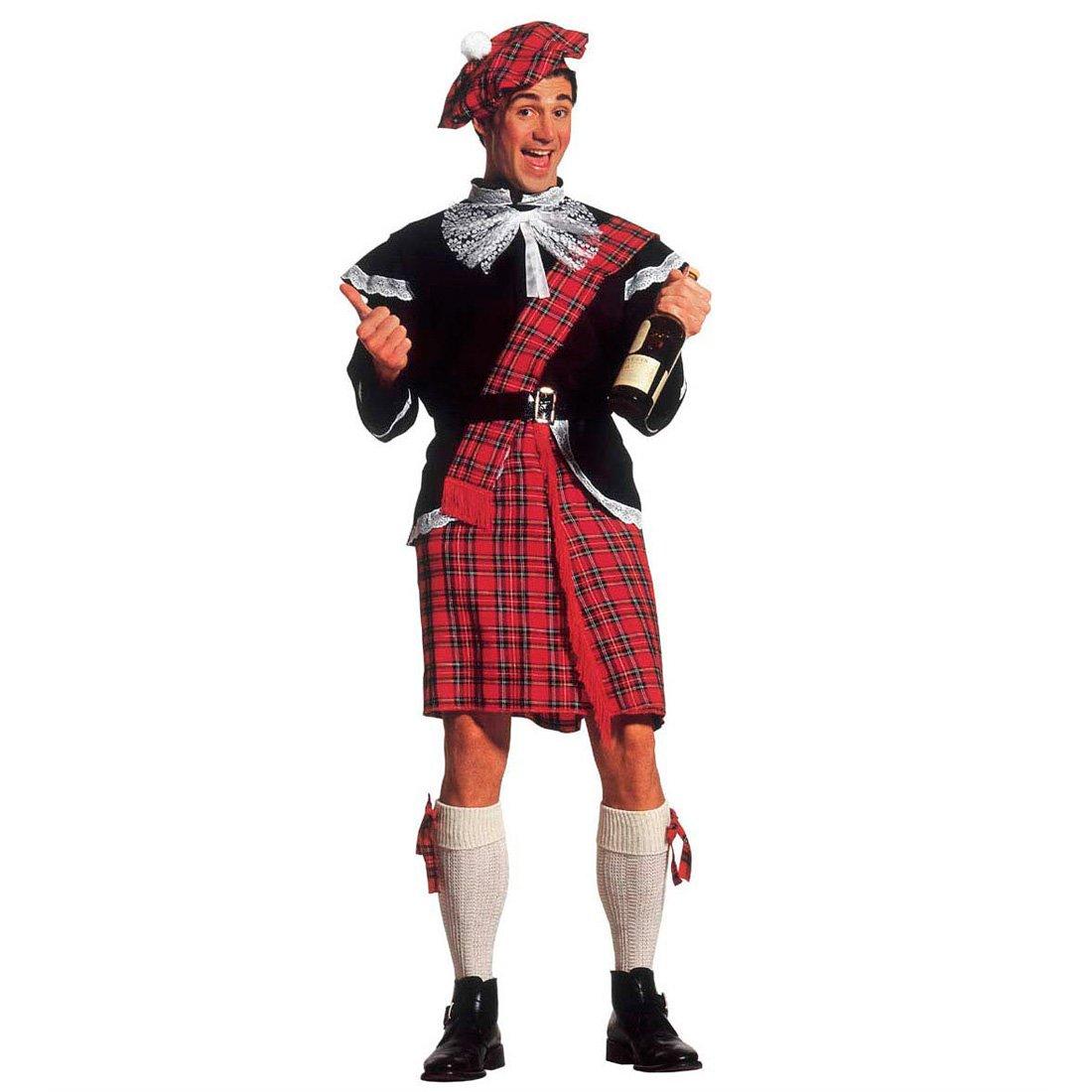 Disfraz de escocés para hombre kilt escocés para hombre con ...