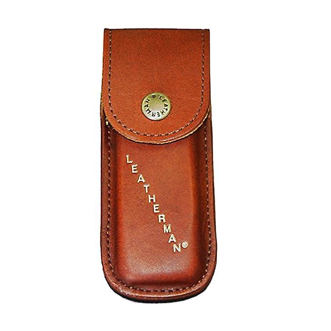 Medium Brown TUFF LUV Echt Leder H/ülle Tasche F/ür Leatherman Heritage Wave//Charge//Skeletool LPH400