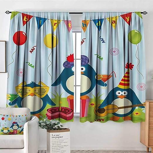 Cortinas de decoración para habitación de cumpleaños para ...