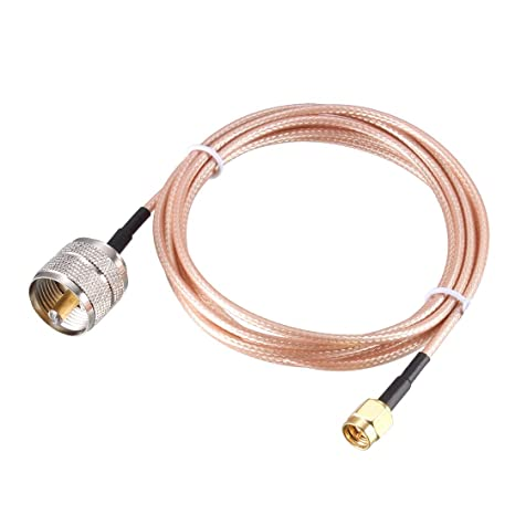 RG316 PL259 UHF Male to BNC FEMALE Coaxial RF Cable USA-US
