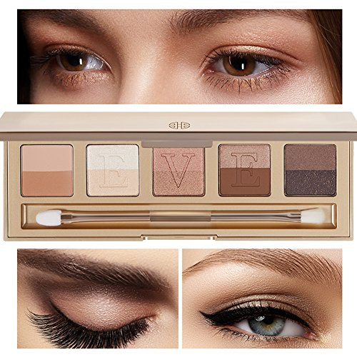 Eve by Eve's Italian Florentine Sunset Eyeshadow Palette - 85% natural 10 colors