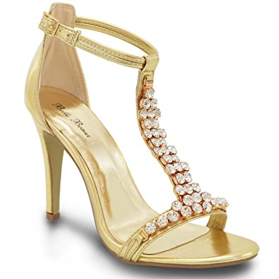 Chaussures Petwer Party / Diamante Sandales z1UWDV