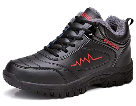 7295b88a39d0f Amazon.com: YVWTUC Durable Middle-aged Men's Sporting Shoes Leather ...