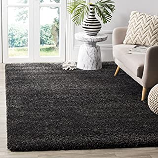 Safavieh Milan Shag Collection SG180-8484 Dark Grey Area Rug (10' x 14') (B00UL9RSXW) | Amazon price tracker / tracking, Amazon price history charts, Amazon price watches, Amazon price drop alerts