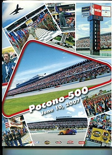 Pocono Raceway NASCAR Stock Car Race Program -