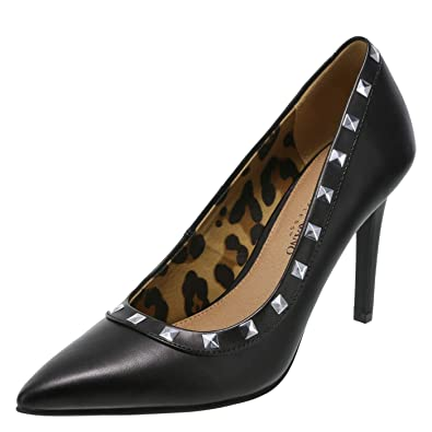 025e9fb43685 Christian Siriano for Payless Black Studded Women s Habit Pointed Pump 9.5  Regular