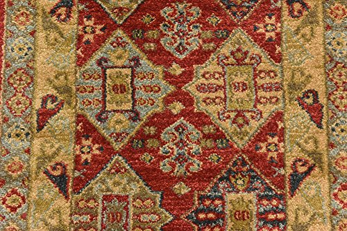 Beautiful Traditional Serapi Cllection Design Red 2 2