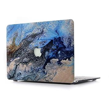 RQTX Funda Dura para Apple MacBook 12 Pulgadas con Pantalla Retina Modelo A1931/A1534 con Cubierta de Teclado Transparente Suave Portátiles Accesorios ...