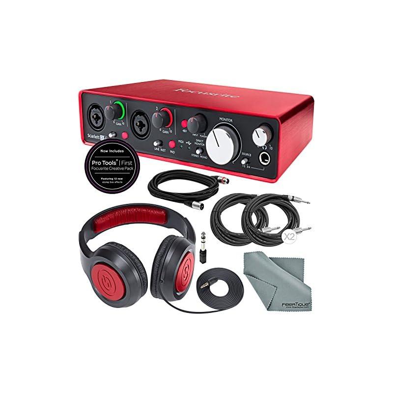 Focusrite Scarlett 2i4 USB Audio Interfa