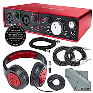 Focusrite Scarlett 2i4 USB Audio Interface (2...