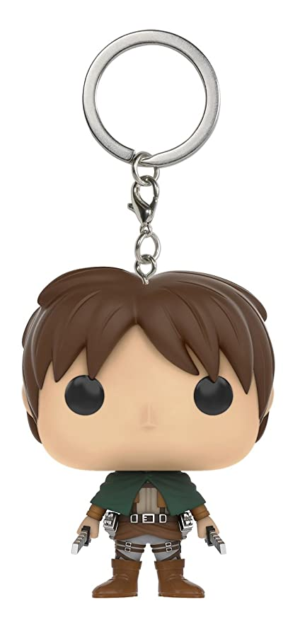Funko POP Keychain: Attack on Titan - Eren Jaeger Action Figure