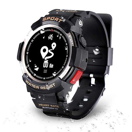 DTNO.I Reloj Deportivo, Fitness Tracker para Correr, Natación y Ciclismo, Seguimiento de Actividad con Pulsómetro, IP68 Reloj Inteligente Impermeable ...