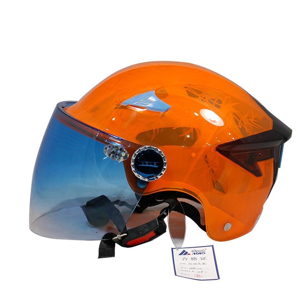LJJ Motorrad Marken Transparentes Gehäuse atmungsaktiv (Farbe    3)
