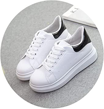 Mageed Anna White Platform Sneakers