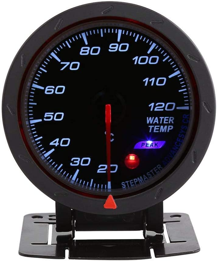 2 LED Digital Water Coolant Temperature Gauge Electrical Water Temperature Gauge