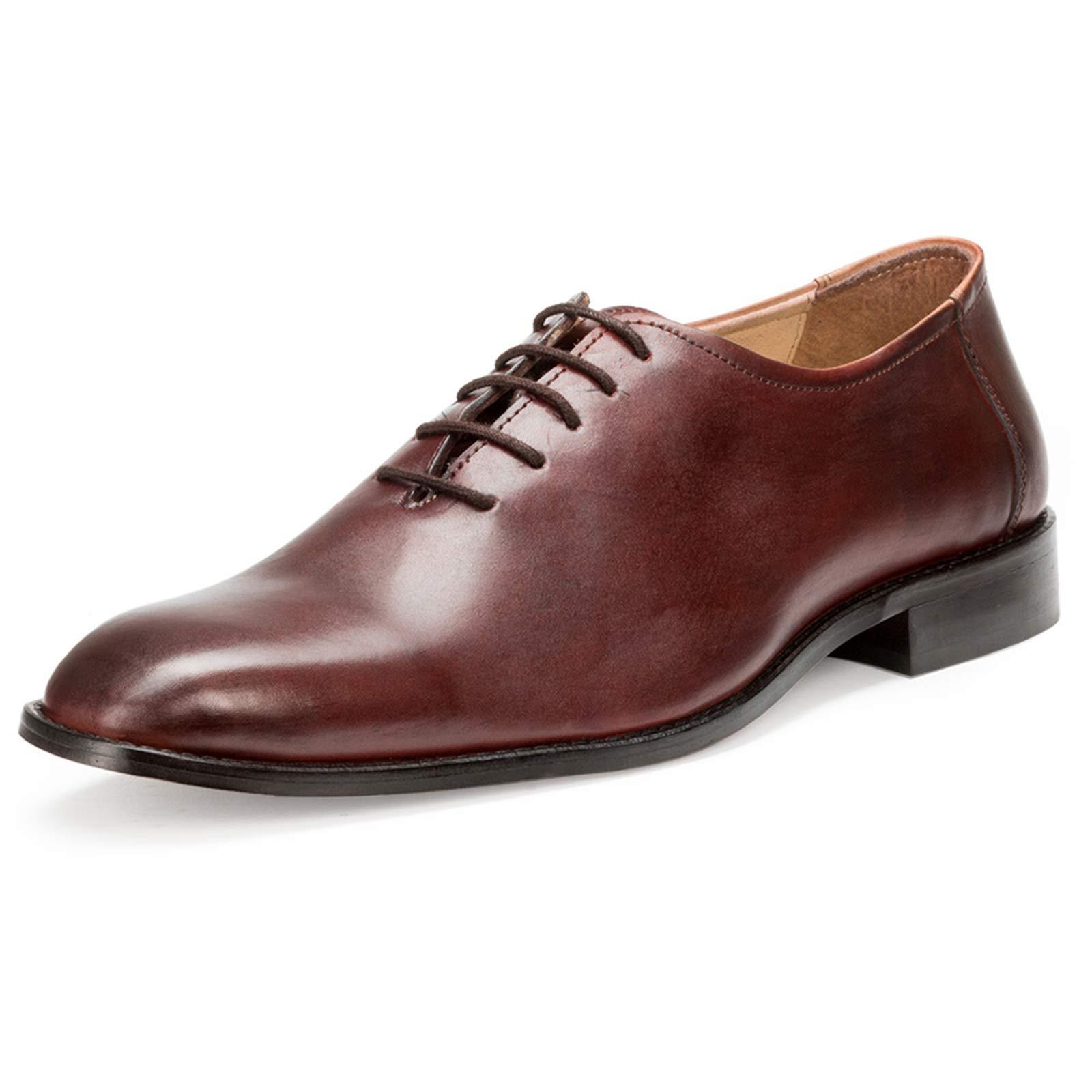 Escaro Royale Men's Premium Handcrafted Formal Oxford Dress Shoes