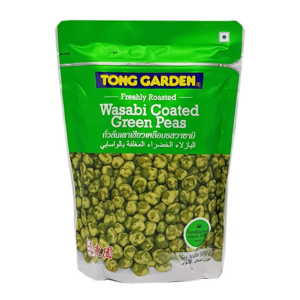 TONG GARDEN BRAND, Wasabi Coated Green Peas 500g