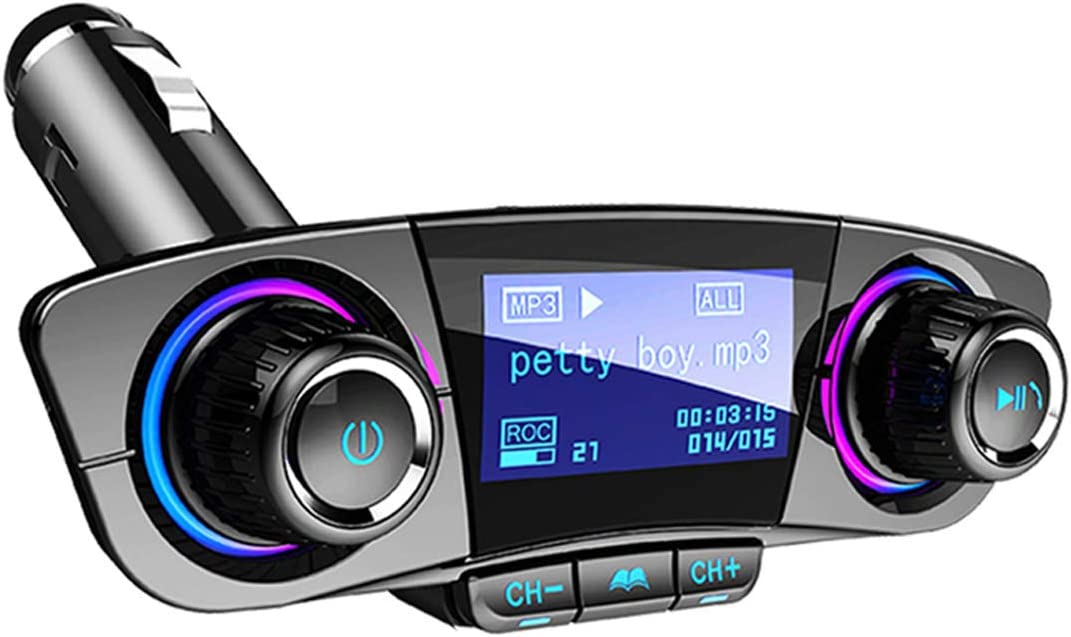 New Bluetooth Wireless Radio FM Transmitter MP3 Player Dual USB Car Charger CPD