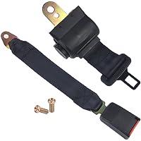 beler Universal Auto 2-Punkt versenkbare Sitzgurt Sicherheits-Lap Gürtel Sicherheitsgurt Gürtelschnalle Belt Set Kit