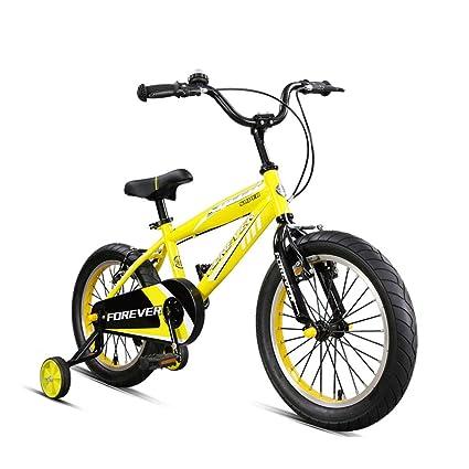 DT Bicicleta Infantil Bicicleta de montaña para niños de 3-6-8 años de