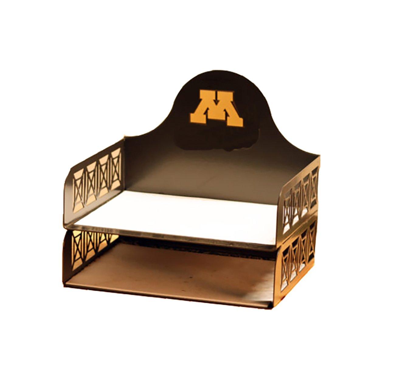 Henson Metal Works 4600-38 Univ. of Minnesota Logo File Tray