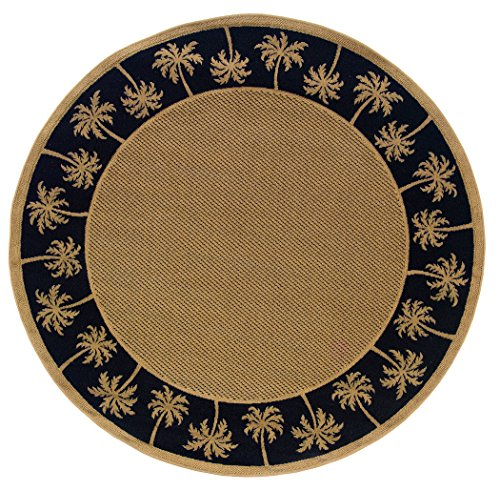 Oriental Weavers  Lanai 606K5 Indoor/Outdoor Area Rug  7'10'' Round by Unknown
