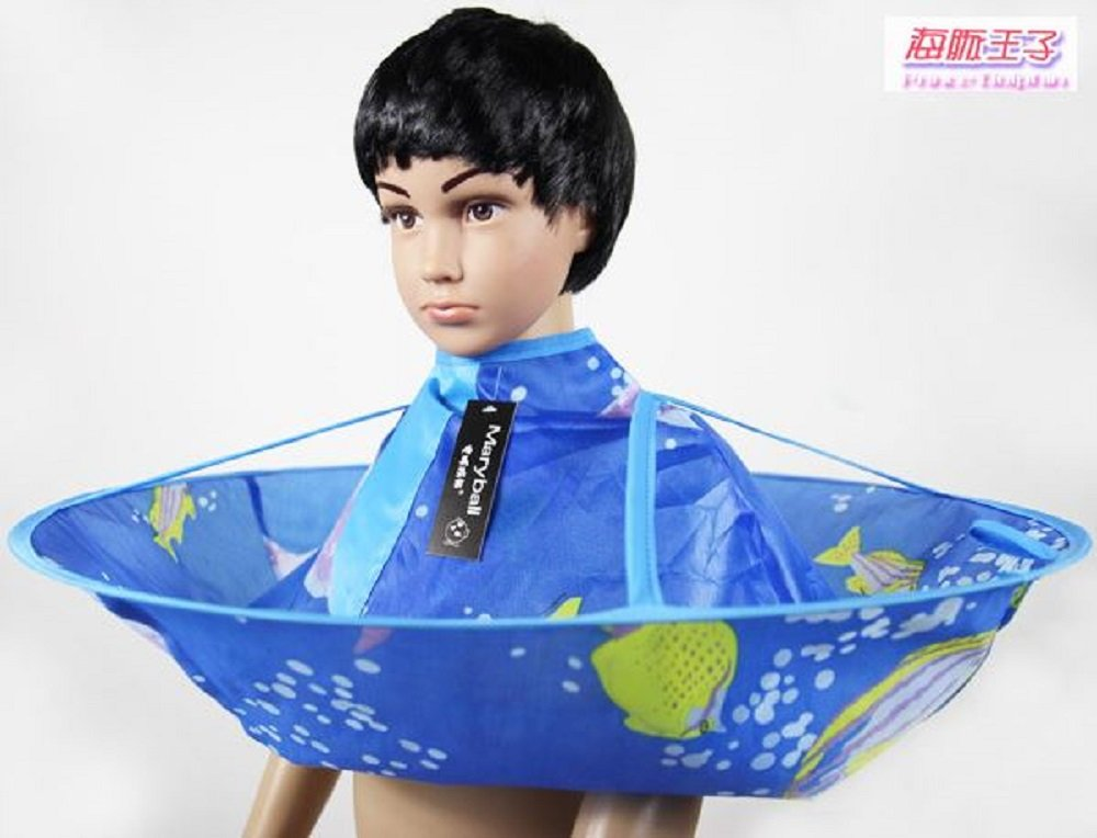 Amazon Haircut Cape Kids Worry Free Goodie Umbrella Catcher