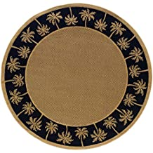 "Oriental Weavers  Lanai 606K5 Indoor/Outdoor Area Rug  7'10"" Round"