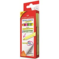 Marca Texto Grifpen 4 Cores, Faber-Castell