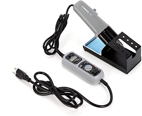 VPABES 938D Portable Hot Tweezers Mini Soldering Station US Plug for BGA SMD Repairing Tool
