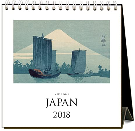 found image press 2018 easel desk calendar japan