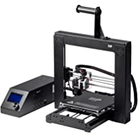 """Monoprice 113860 Maker Select 3D Printer v2 with Large Heated 8"""" x 8"""" x 7"""" Build Plate, Ready To Print, Sample PLA Filament, 4GB MicroSD Card Preloaded with printable 3D Models."""