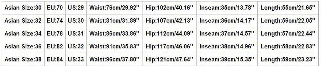Daorokanduhp Mens Cargo Shorts Elastic Waist Twill Relaxed Fit Multi-Pockets Outdoor Casual Shorts Fashion Comfort Slacks Pants Khaki