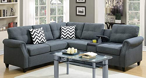 Poundex Sectional Sectional Sofa