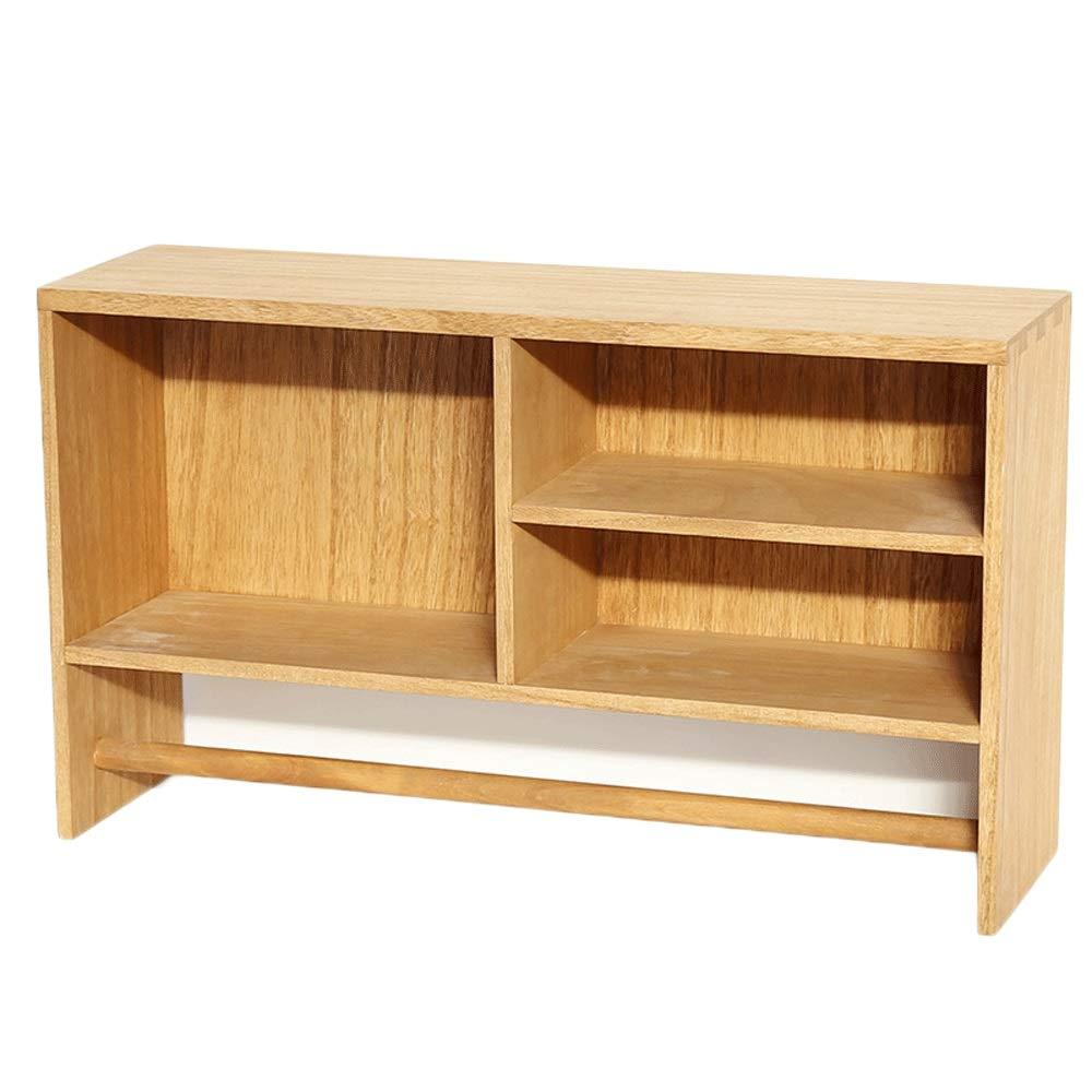 L-G-M 多機能寝室リビングルームの壁棚ラック壁シンプルモダンな木製収納キャビネットファッション本棚 (Color : Wood color) B07SJ54YDW Wood color