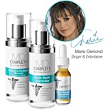 MD Complete by Dr. Brian Zelickson DARK SPOTS & FIRMNESS TRIO (New improved Dark Spot Corrector + Wrinkle Radiance Remedy + Retinol Vitamin C Concentrate) with 2% Hydroquinone and Retinol DSCTRIO
