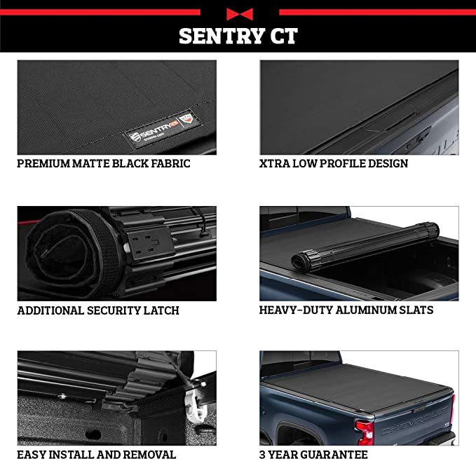 Tonneau Covers Truxedo Sentry Ct Hard Rolling Truck Bed Tonneau Cover Fits 2019 20 Gmc Sierra Chevrolet Silverado New Body Style 2500hd 3500hd 67 Bed 1573316 Automotive