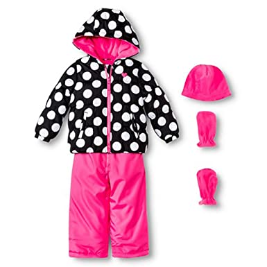 807dce7e7 Image Unavailable. Image not available for. Color: Just One You Made by  Carter's Little Girls Snowsuit Set ...
