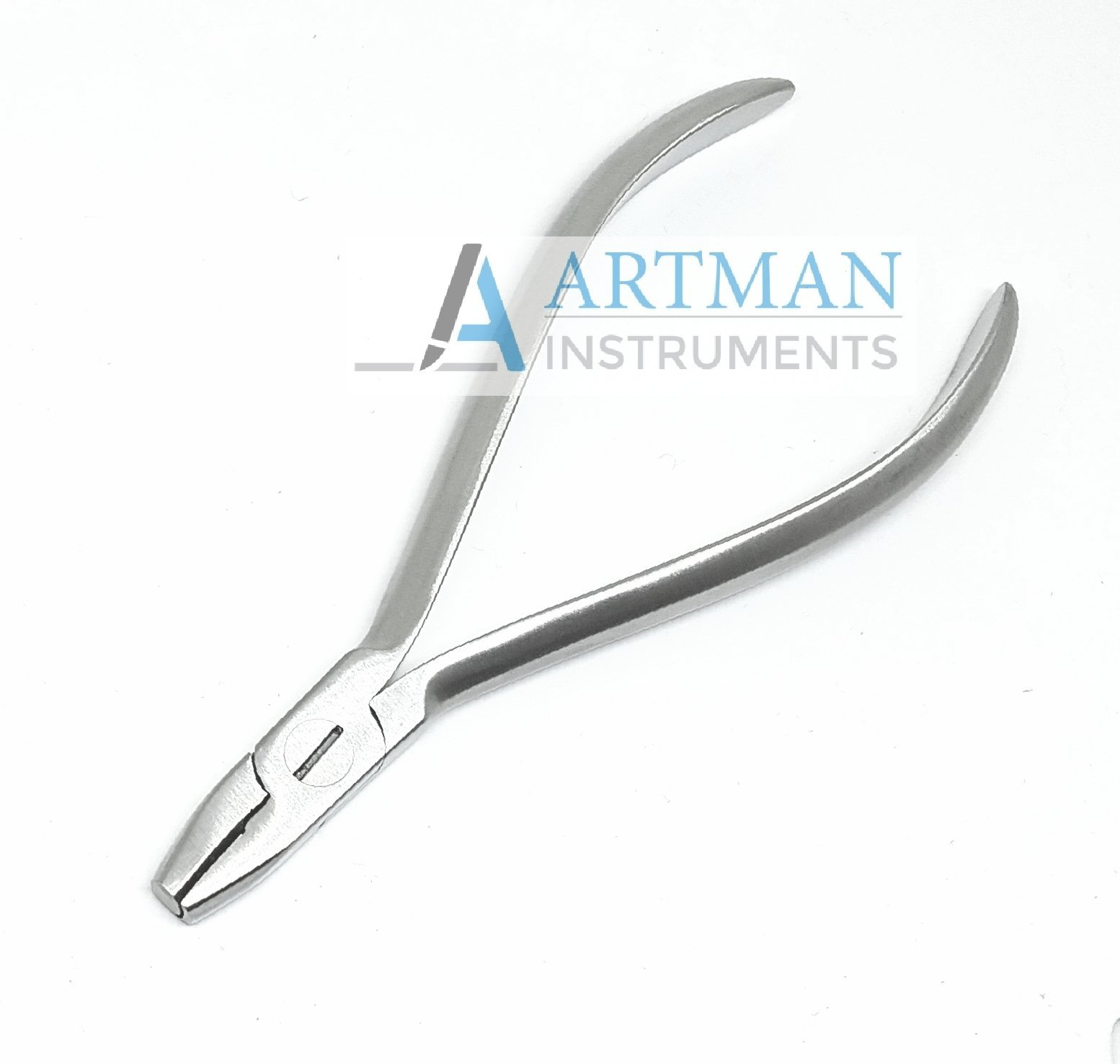 De la rosa pliers with grooves Hollow Chop contouring pliers Arch forming pliers Wire contouring pliers Orthodontic dental by wise linkers USA
