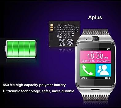 Smartwatch Demiawaking Relojes Inteligentes Aplus GV18 Bluetooth ...