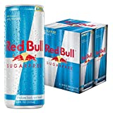 red bull can - Red Bull Sugarfree, Energy Drink, 4pk, 8.4 oz Cans