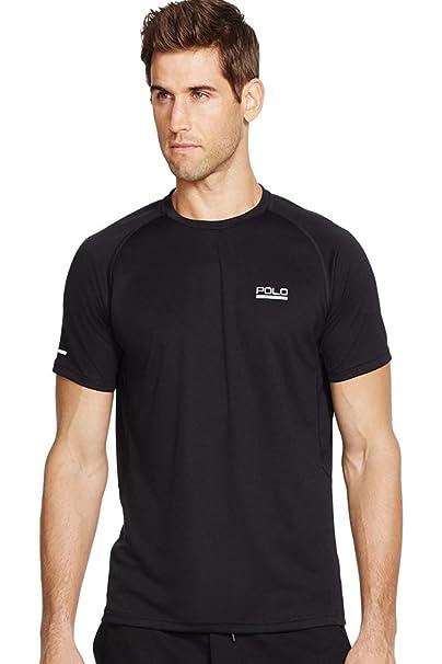 8c74721f Amazon.com: RALPH LAUREN Polo Sport Men's Performance T-Shirt (Black ...