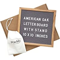 Peachly Letter Board 10x10 inches