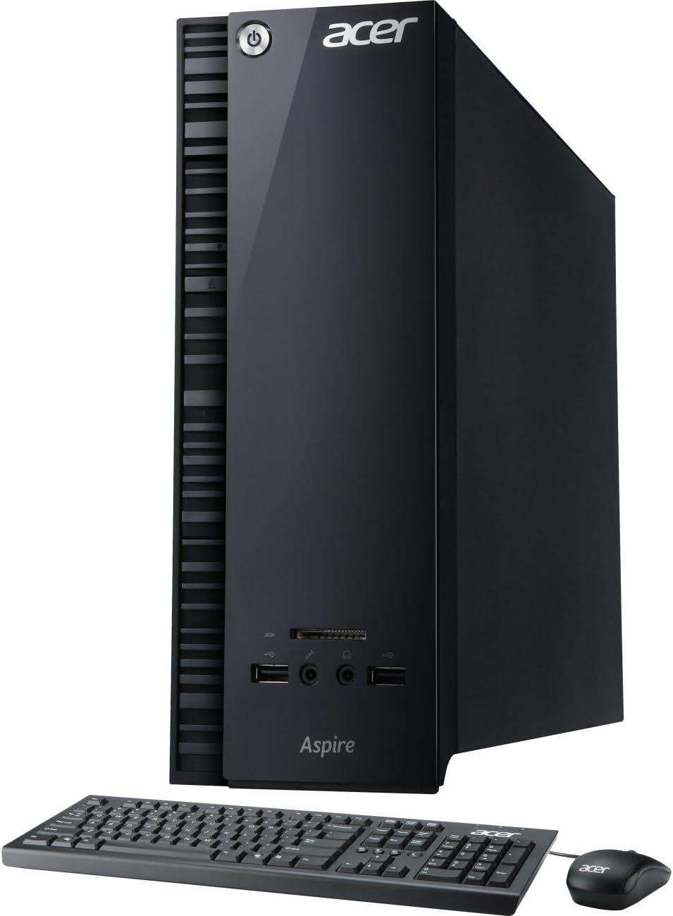 Acer AXC-704G-UW61 Desktop PC Celeron 1.60GHz CPU 4GB RAM 500GB HDD Windows 10