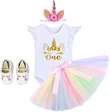 unicorn headband and tutu birthday girl outfit 1st birthday girl outfit unicorn tutu dress Unicorn 1st birthday girl outfit