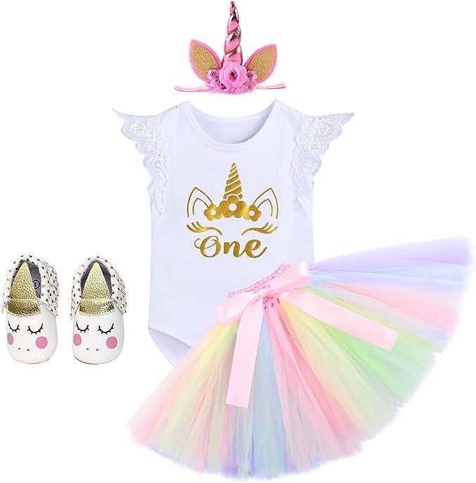 1 PCS LEEYYO New Unicorn headband Chiffon flower Headband Halloween birthday party Baby Headdress